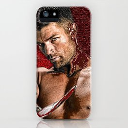 Liam McIntyre Spartacus 1 iPhone Case