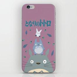 Totoro iPhone Skin
