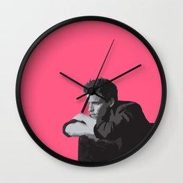 Eddie Redmayne 9 Wall Clock