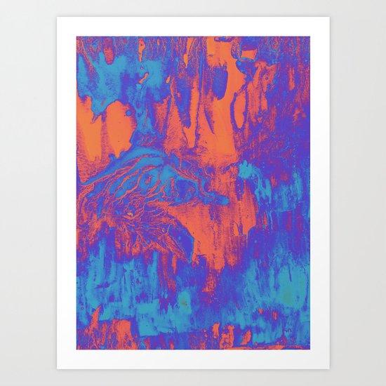 acidwash Art Print