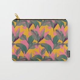Retro Luxe Lilies Pattern Carry-All Pouch