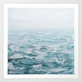 Foggy Seas No. 2 Art Print