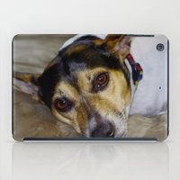 terrier iPad Cases featuring Terrier by Rick Kirby
