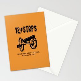 For Those About To Kick We Salute You Stationery Cards