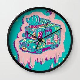 "I Scream ""Truck!"" Wall Clock"