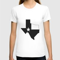texas T-shirts featuring TEXAS by Fool design