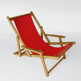 Bright red Sling Chair