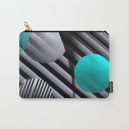 3D - abstraction -91- Carry-All Pouch