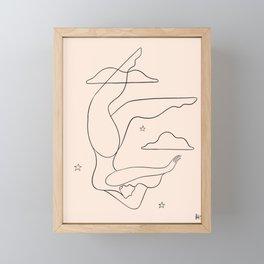 Plot twist Framed Mini Art Print
