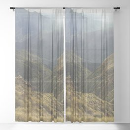 TAKE A HIKE and get lost Sheer Curtain