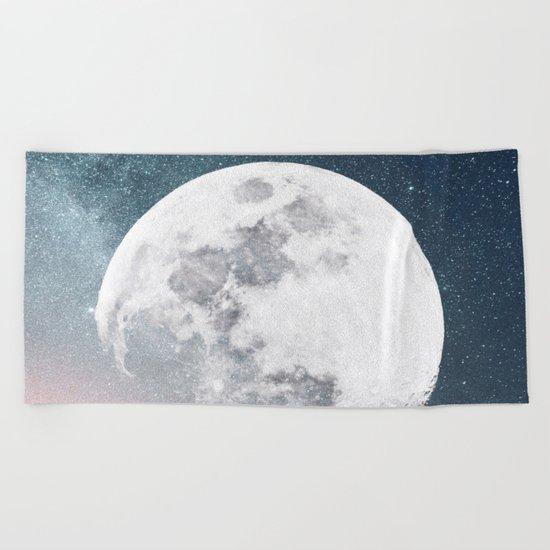 Halloween Moon Beach Towel