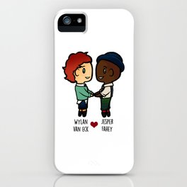 Wylan x Jesper - Six of Crows / Crooked Kingdom iPhone Case