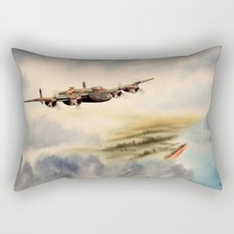 Avro Lancaster Aircraft Rectangular Pillow