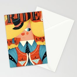 Ride, with love Stationery Cards