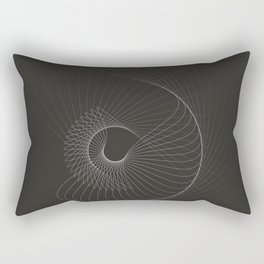 toroid.iii Rectangular Pillow