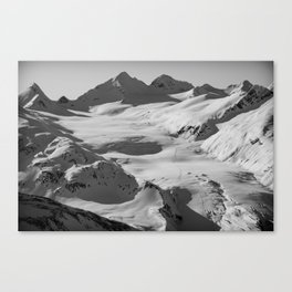 Somewhere outside of Valdez Canvas Print
