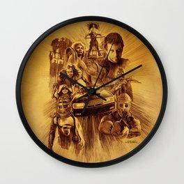 Homage to Mad Max Wall Clock