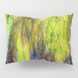 Sketchy Splashed Paint Pillow Sham