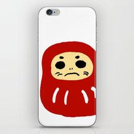 tumbling doll'達磨' iPhone Skin