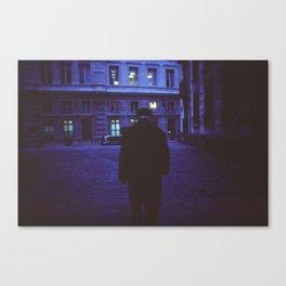 Paris Walks Canvas Print