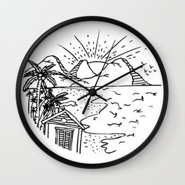 My Dream House Wall Clock