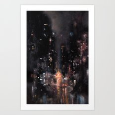 Saint Mark's and Avenue Something Art Print