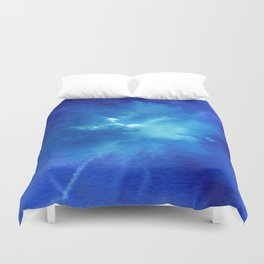 Blue Powder Duvet Cover
