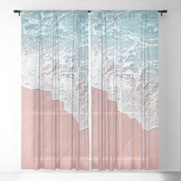 Ocean Love Sheer Curtain