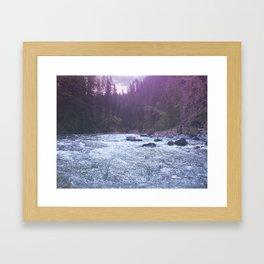 maligney water Framed Art Print