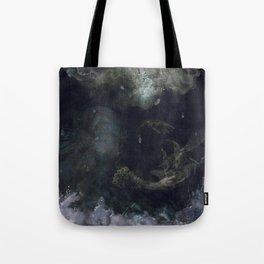 The Sea Of Rains Tote Bag