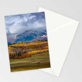 Fall in the Rockies Stationery Cards