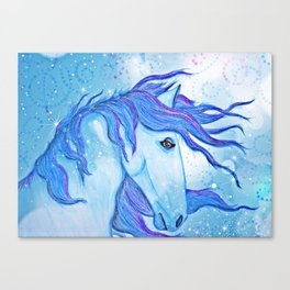 Horse Magic Canvas Print