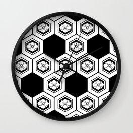 Hanabishi-Pattern, japan, Japanese Wall Clock