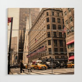 ArtWork New York City Photo Art Wood Wall Art
