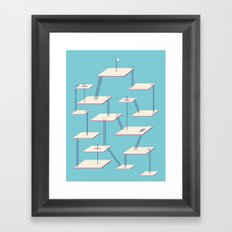STAGNATION Framed Art Print