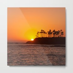 Laguna Beach Sunset Metal Print
