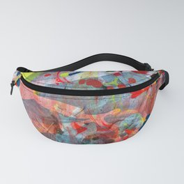 abstract painting art Fanny Pack