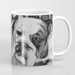 Wading Bull Dog Coffee Mug
