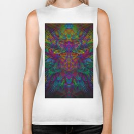 Unified with nature Biker Tank