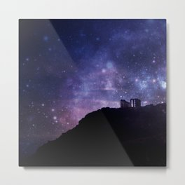 Temple of Poseidon Metal Print