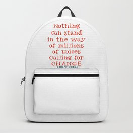 Change Backpack