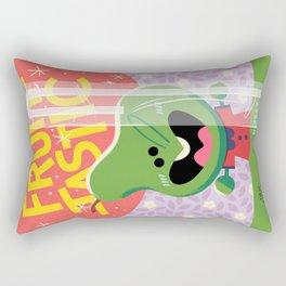 Rosey Posey Pear Rectangular Pillow
