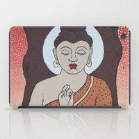 buddha iPad Cases featuring Buddha     by Marjolein