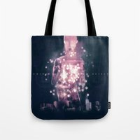 ufo Tote Bags featuring Ufo by Marc González
