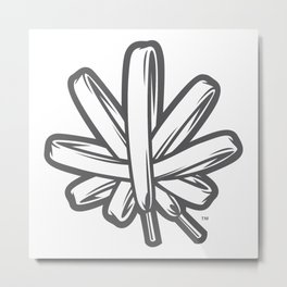 Kush Knot Metal Print