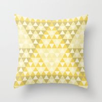 triforce Throw Pillows featuring Triforce by Gavin Guidry