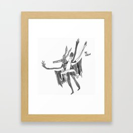 Ye Haw Framed Art Print