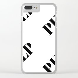 Pulp Clear iPhone Case