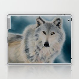 Grey Wolf Laptop & iPad Skin