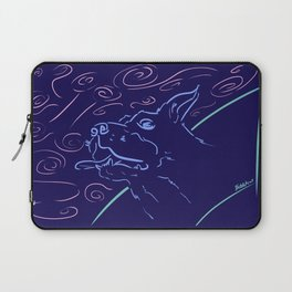 Biscuit in the Sky (Night) Laptop Sleeve